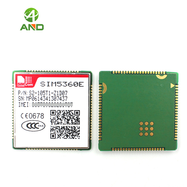 SIM5360E SMT סוג 3G WCDMA מודול, SIM5360E