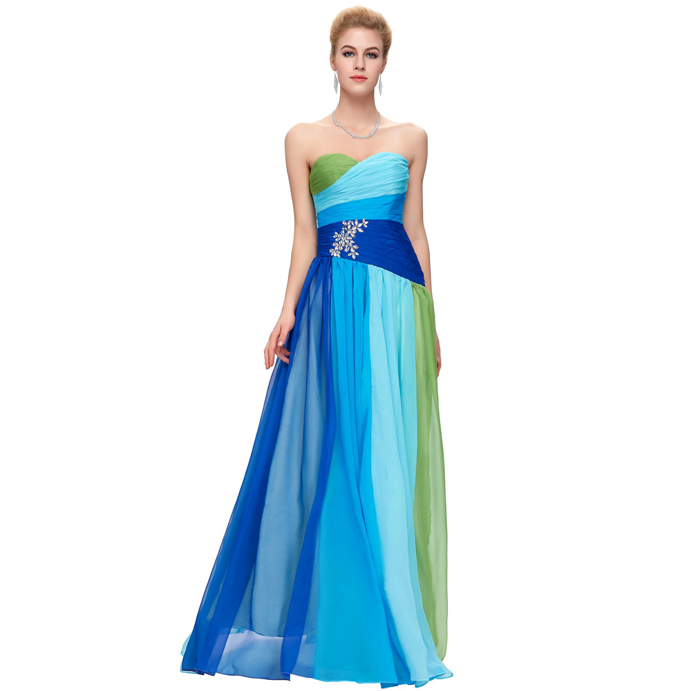 Popular Blue Ombre Dress-Buy Cheap Blue Ombre Dress lots from ...