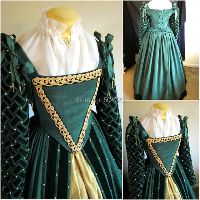 Custom-madeR-579 Vintage Costumes 1860s Civil War Southern Belle Ball wedding Dress/Gothic Lolita Dress Victorian dresses