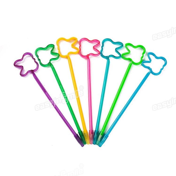 Commerci all'ingrosso Denti A Forma di Penne A Sfera più colori 100 pz/lotto-in Penne a sfera da Articoli per scuola e ufficio su  Gruppo 1