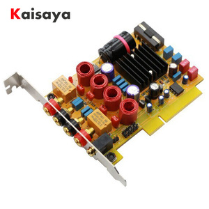 Image 1 - TPA3116D2 Audio Amplifier Receiver HiFi Stereo Digital amplifier card 50W*2 Hollow inductance upgrade amplificador Board
