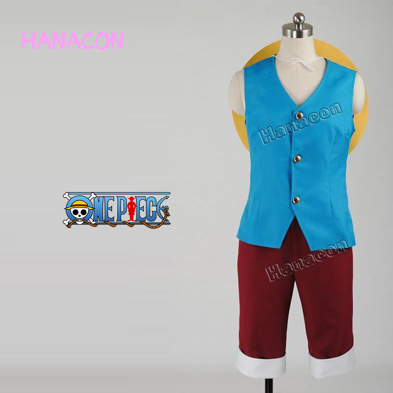 Luffy Gladiator Second Outfit: One Piece Cosplay Costume Monkey D Luffy Costume Cosplay
