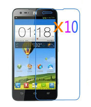 High Quality 10x Glossy Ultra Clear LCD Screen Protector Guard Cover Film Shield for ZTE V975(Geek)