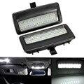 2 PCS 18 LED Error Free Universal Interior Light 12V Mirror Visor LED Light Lamp for BMW F10 F11 F07 F01 F02 F03
