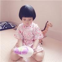 2017 autumn baby pajama sets children sleepwear boys girls nightwear kimono style baby indoors pcs set baby clothes set