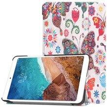 цена на For Xiaomi Mipad 2 Smart Case 100% Original Brand Slim Folding Intelligent Flip PU Leather Case For Mi Pad 2 With Sleep/Wake up
