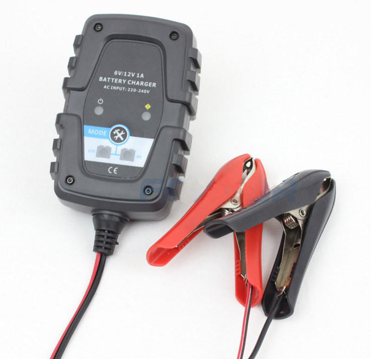 Automobiles & Motorcycles Electric Vehicle Parts Learned 6v 12v 1a Automatic Smart Battery Charger Maintainer For Car Motorcycle Scooter Deep Cycle Agm Gel Vrla Battery Charger Strengthening Sinews And Bones