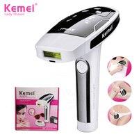 Kemei KM-6812 Permanente Laser Epilator Pijnloze Ontharing Apparaat Photon Gepulste voor Hele Lichaam Bikini Epilator Dame Scheerapparaat