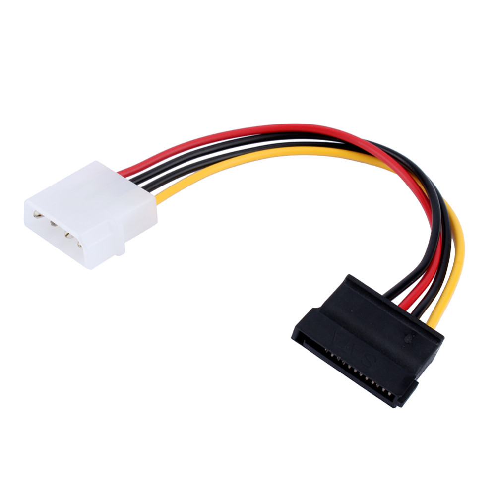 5pcs-SATA-15pin-15P-Serial-ATA--to-Molex-IDE-4-Pin-Male-M-M-Hard  Wire Pin Sata Wiring Diagram on