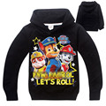 Boy Hoodies puppy patrol Clothes Clothing Children's Sweatshirts for Boys Cartoon Fashion Kids T Shirt  Children Tops Costume