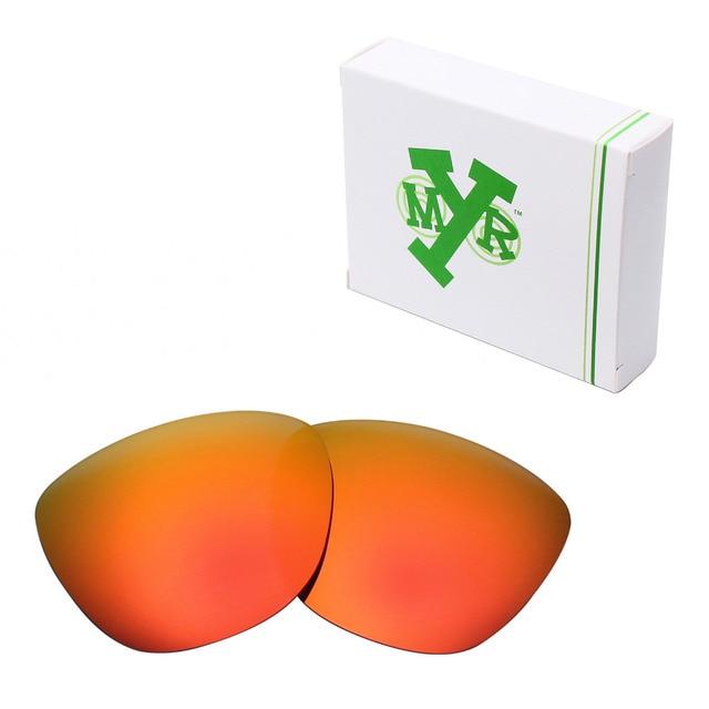 MRY ПОЛЯРИЗОВАННЫХ Сменные Линзы для Oakley Frogskins Солнцезащитные Очки Ярко-Красный