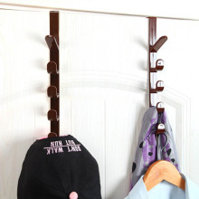 Hanging Racks Door Hanger Hook Cupboard Cabinet Rack Plastic Hat Clothes Bag Han
