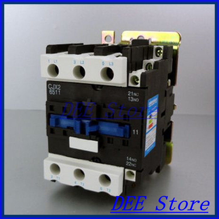 Motor Starter Relay CJX2-6511 contactor AC 220V 380V 50A Voltage optional LC1-D free shipping high quality motor starter relay cjx2 6511 contactor ac 220v 380v 65a voltage optional lc1 d
