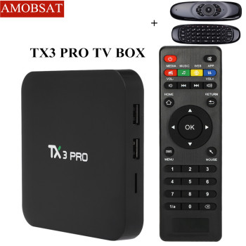 TX3 PRO Android 7.1 Wifi TV Box Amlogic S905W Android quad core TV BOX 4K BOX Smart Media Player 1GB/8GB set-top box pk x96 mini