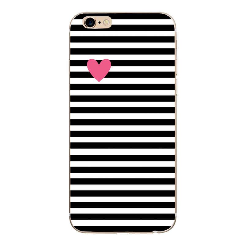 電話ケースファッション女性ガール iphone 用 × 1 ケース iPhone 5 5 S 、 SE 6 6s 7 8 プラスウーマンソフトシリコンカバーケース Iphone 5 5s ケース