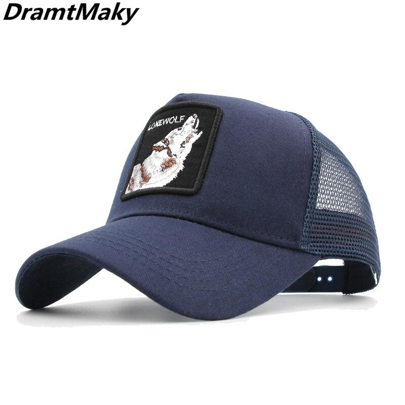 New Embroidery animal   Baseball     Caps   gorra gallo men Breathable Mesh Snapback   caps   sun hat for women bone Casquette Hip Hop   cap
