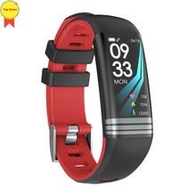 banda inteligente Fitness tracker VK skype whatsapp notification IP67 Waterproof sports Heart rate monitor relogio