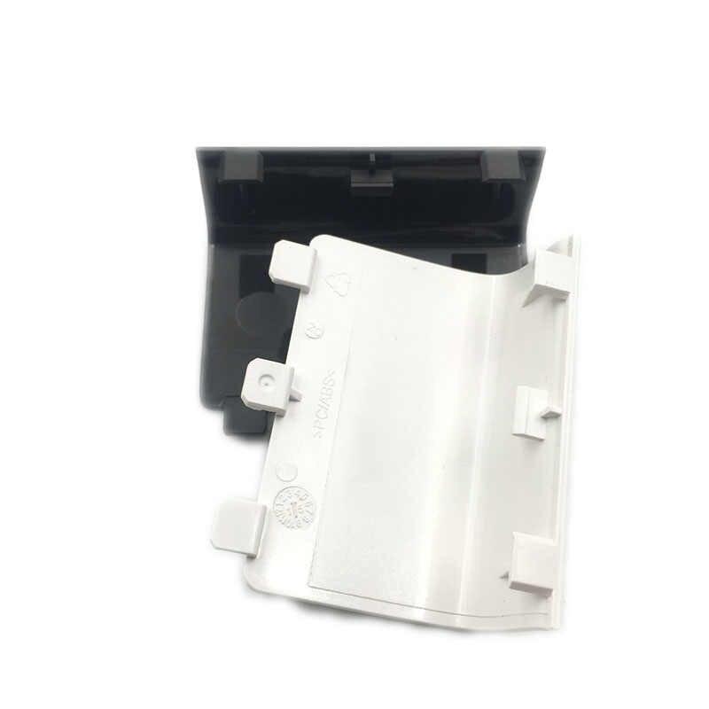 黒、白バッテリーパックバックカバー W/ロゴ Xbox One ワイヤレスコントローラ電池蓋カバー