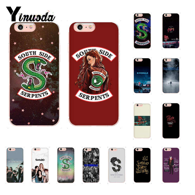 Yinuoda Riverdale SOUTH SIDE Fashion TV Show Customer High Quality Phone Case for iPhone 8 7 6 6S Plus X XS MAX 5 5S SE XR 10