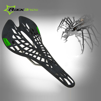 Rockbros Fashion Bicycle Saddle Mountain Road Outdoor Sports Cycling Saddle Bike Front Seat Mat Spider Cycling