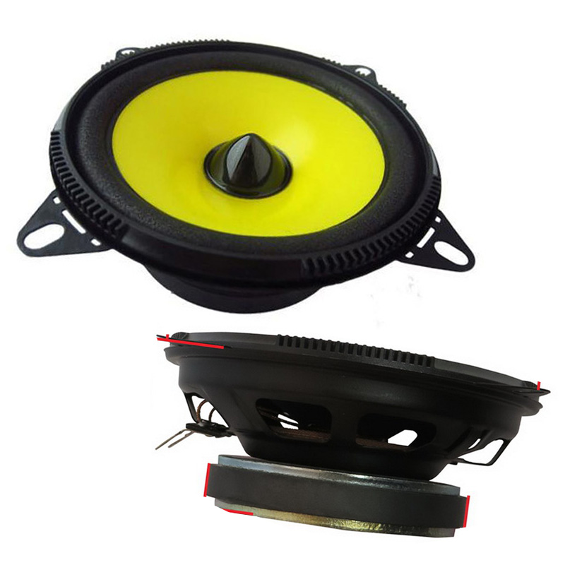<font><b>Car</b></font> <font><b>Speaker</b></font> Full Range Stereo System Full Range <font><b>Speaker</b></font> with the Streamline Appearance Pair of 4 inch <font><b>Car</b></font> <font><b>Audio</b></font> <font><b>Speaker</b></font> image