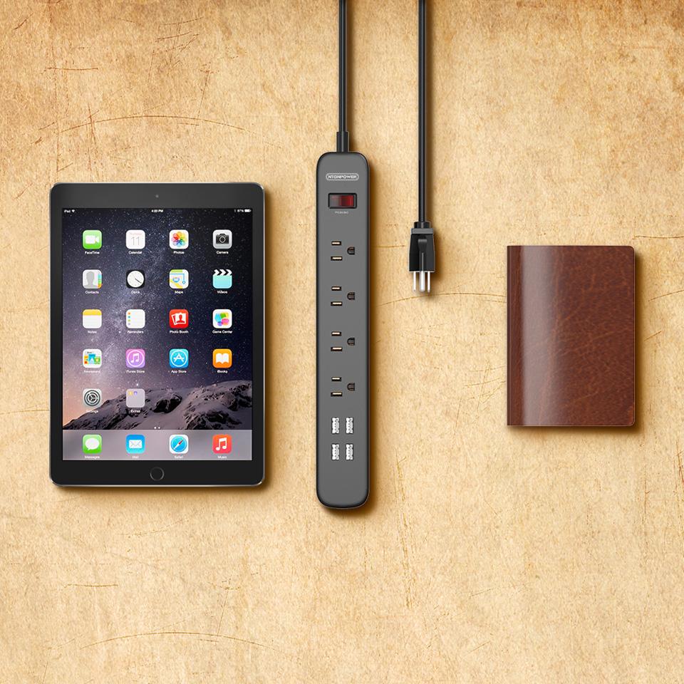 NTONPOWER USB Surge Protector Smart Power Strip (6)