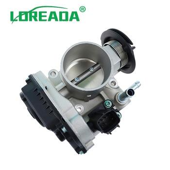 LOREADA 96394330 de 96815480 del cuerpo del acelerador para Chevrolet Lacetti Optra J200 Daewoo Nubira 03-12 1.4i 1.6i