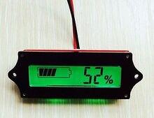 12 В ЖК-дисплей индикатор свинцово-кислотная lipo Батарея Мощность Ёмкость тестер/монитор/проверки