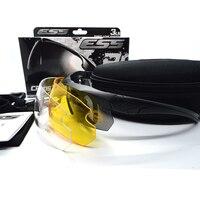 Ess Glasses TR90 Military Tactical Glasses Bulletproof Sunglasses UV 400 3 Lens Eyewear Men S Eyewear