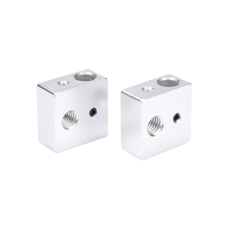 3D printer Accessories heating block Makerbot MK7 MK8 dedicated print head heated Aluminum block MK8 Extruder