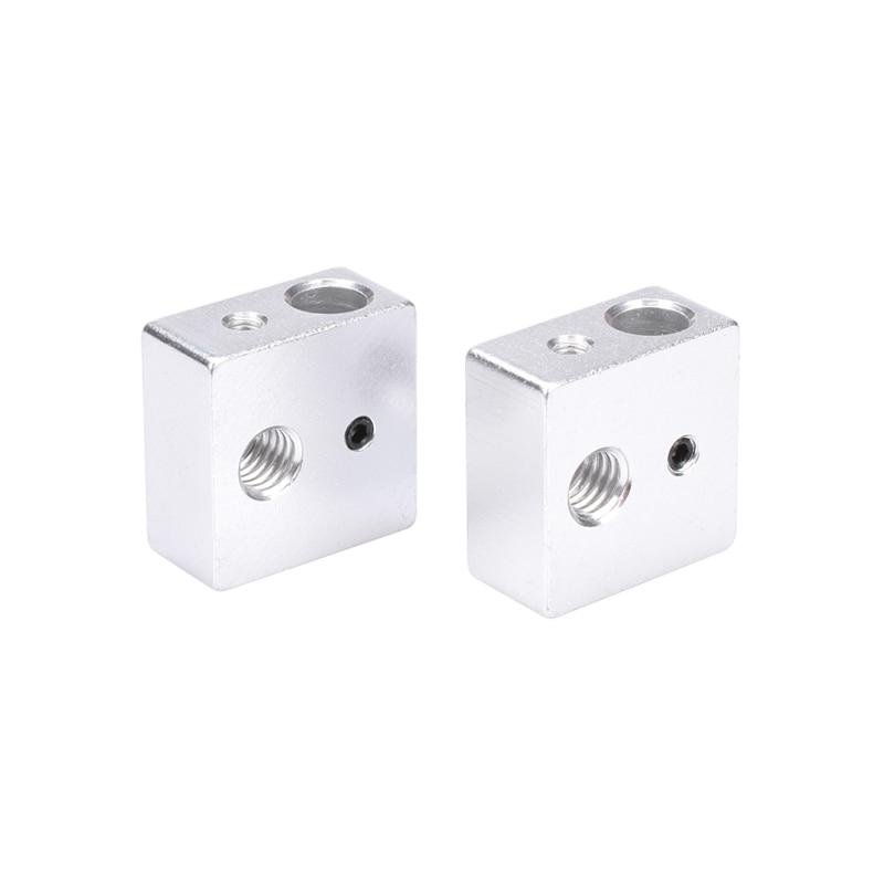 3D Printer Accessories Heating Block Makerbot MK7 MK8 Dedicated Print Head Heated Aluminum Block MK8 Extruder