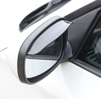 Universal flexible PVC auto parts rearview mirror rain cover 2 pieces for BMW 1 2 3 4 5 6 7 Series X1 X3 X4 X5 X6 325 328 F30 image