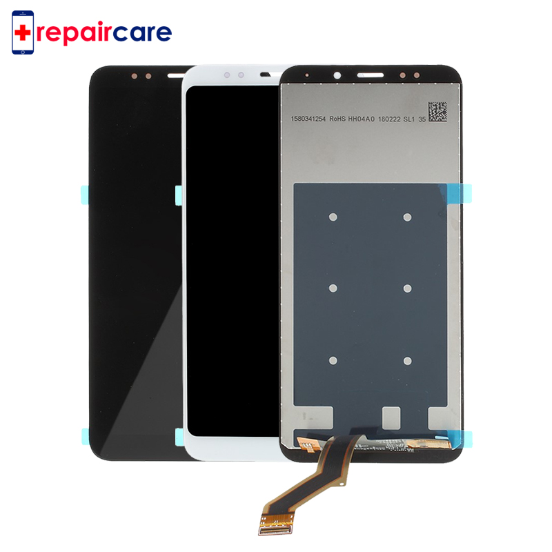 5PCS 6.0 inch NEW For Xiaomi Redmi Note 5 LCD DIsplay + Touch Screen + frame Digitizer Assembly Black/White For Redmi Note 5