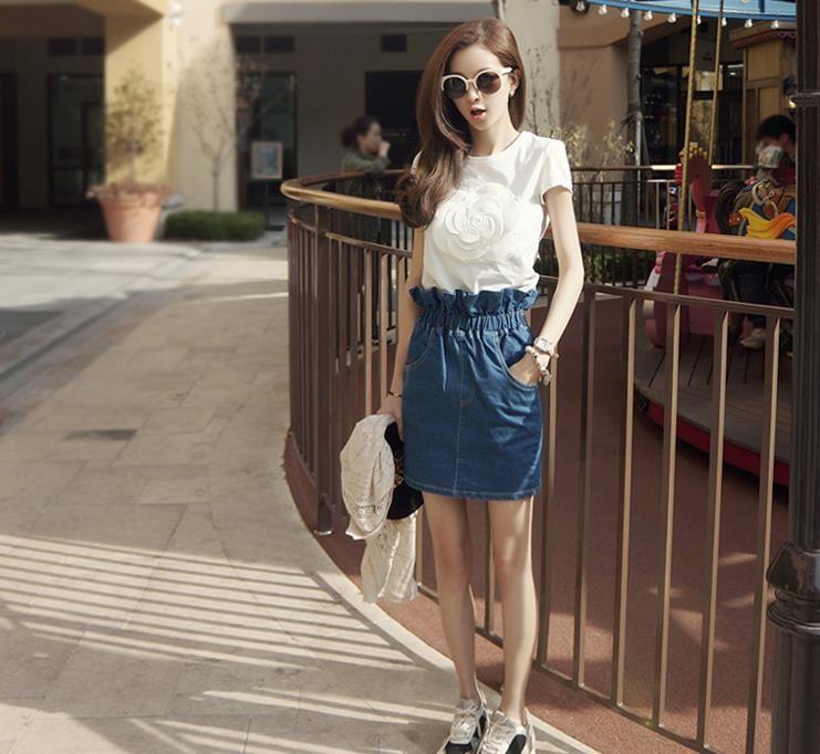 HTB1qJyULVXXXXbgXFXXq6xXFXXXP - Wonderfulland women summer 3d camellia embroidery luxury T-shirt