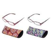 Gafas de lectura Unisex Vintage para mujer, gafas para presbicia, lentes transparentes con montura Rectangular + 1,0 a + 4,0