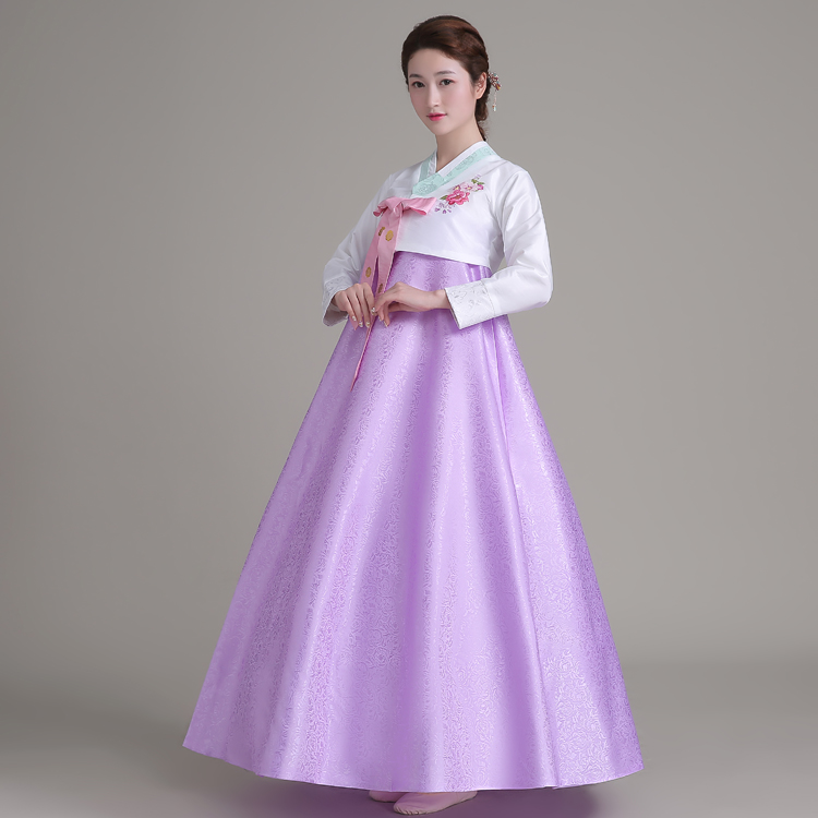 In One Pinji Korean Costumes Traditional Wedding Palace Lady Clothing Dance Costume Hanbok National Taiwan Asia Pacific Islands From