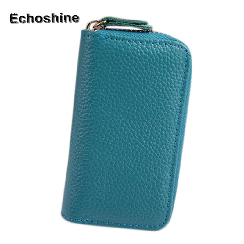 цена на 2016 Best Selling Men Cow Leather Purse Car Key Wallets Fashion Women Housekeeper Holders A1000