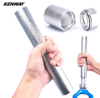 KENWAY Mountain Bike Fork Base Installation Tool MTB Bicycle Headset Bottom Washer Setting Tool for 28.6 1.5 1.25 Fork