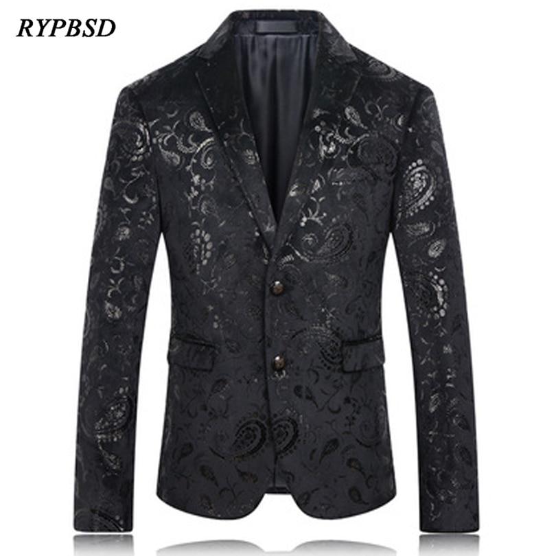 Black Blazer Men 2019 Fashion Casual Blazer Men Winter Korean High Quality Wedding Suit Jacket Men Blazer Designs Slim Fit