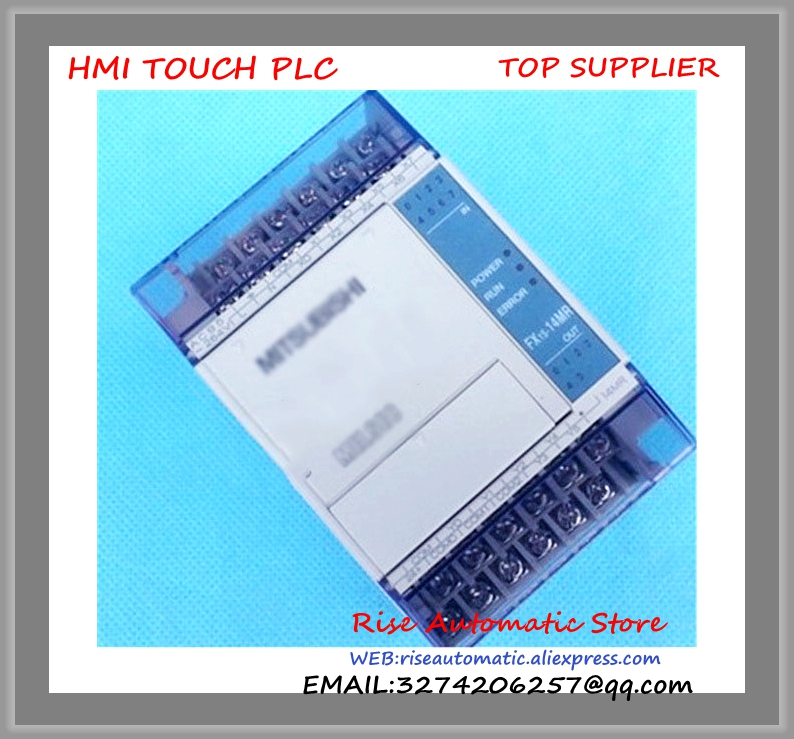 FX1S-14MT-D PLC 24V DC Transistor Output Base Unit New Original 100% test good quality  цена