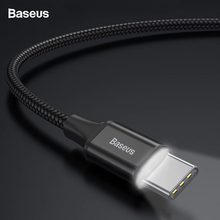 Baseus USB Type C Cable For Samsung S9 S8 Fast Charging Char