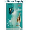1 лот = 2 коробк. Lvshou похудения придерживаться похудения пупка стикер тонкий патч потеря веса сжигания жира быстро