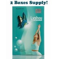 1 Lot 2 Boxes Lvshou Slimming Stick Slimming Navel Sticker Slim Patch Weight Loss Burning Fat