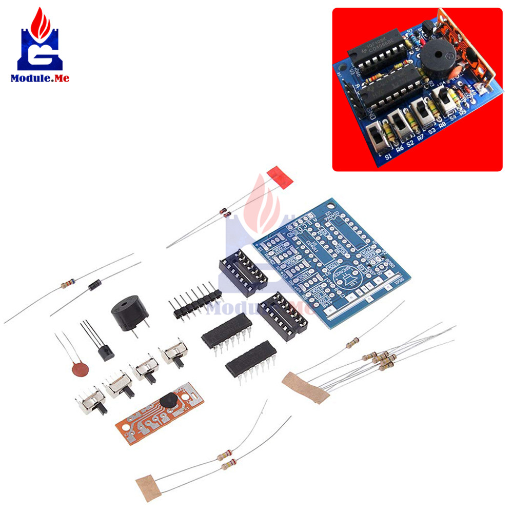 16 Music Box Sound Box Electronic Module Board Production DIY Kit Parts Components Accessory Kits