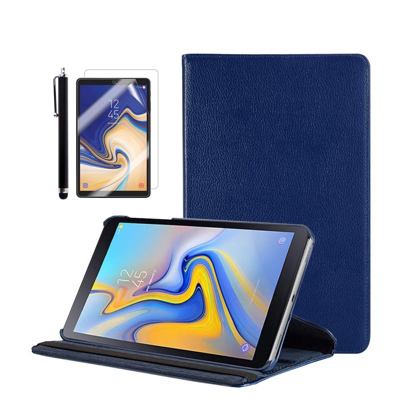 Fold Flip Stand Cover Case Exclusive For 2018 Galaxy Tab A Tablet 10.5 Inch SM-T590(Wi-Fi) / SM-T595(LTE)