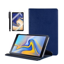 Fold Flip Stand Cover Case exclusive for 2018 Galaxy Tab A Tablet 10.5 inch SM-T590(Wi-Fi) / SM-T595(LTE) +Stylus +Screen Film cube iwork11 handwriting dual system wi fi 64gb 10 6 inch win8 10 stylus tablet