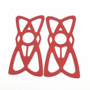 Image 5 - Ram Dağı X Kavrama Silikon Motosiklet telefon tutucu yuvası X kavrama gopro Iphone 7/7 Plus/8 Kırmızı siyah