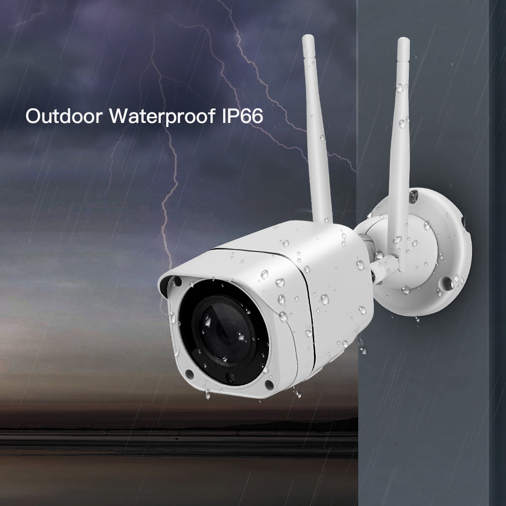 Image 4 - 3G 4G SIM Card Wireless IP Camera Outdoor 1080P Bullet Wifi Camera IR Night Vision Home Security Surveillance H.265 Format Cam-in Surveillance Cameras from Security & Protection