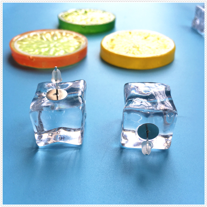 Ice Cubes Earrings