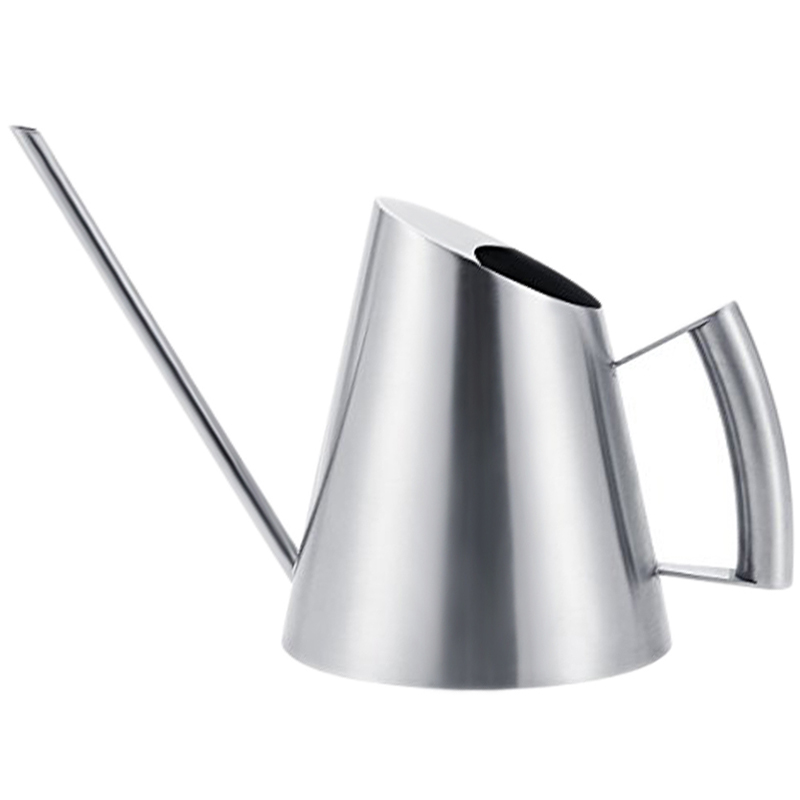 400Ml Stainless Steel Watering Can Brushed Garden Planting Sprinkler Pot Green Plants Flowers Practical Gardening Tools